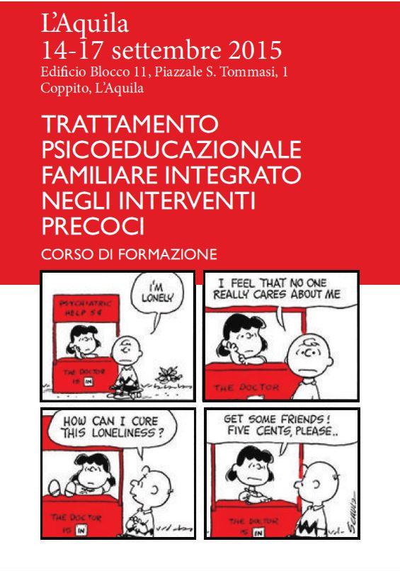 TRATTAMENTO PSICOEDUCAZIONALE FAMILIARE INTEGRATO NEGLI INTERVENTI PRECOCI