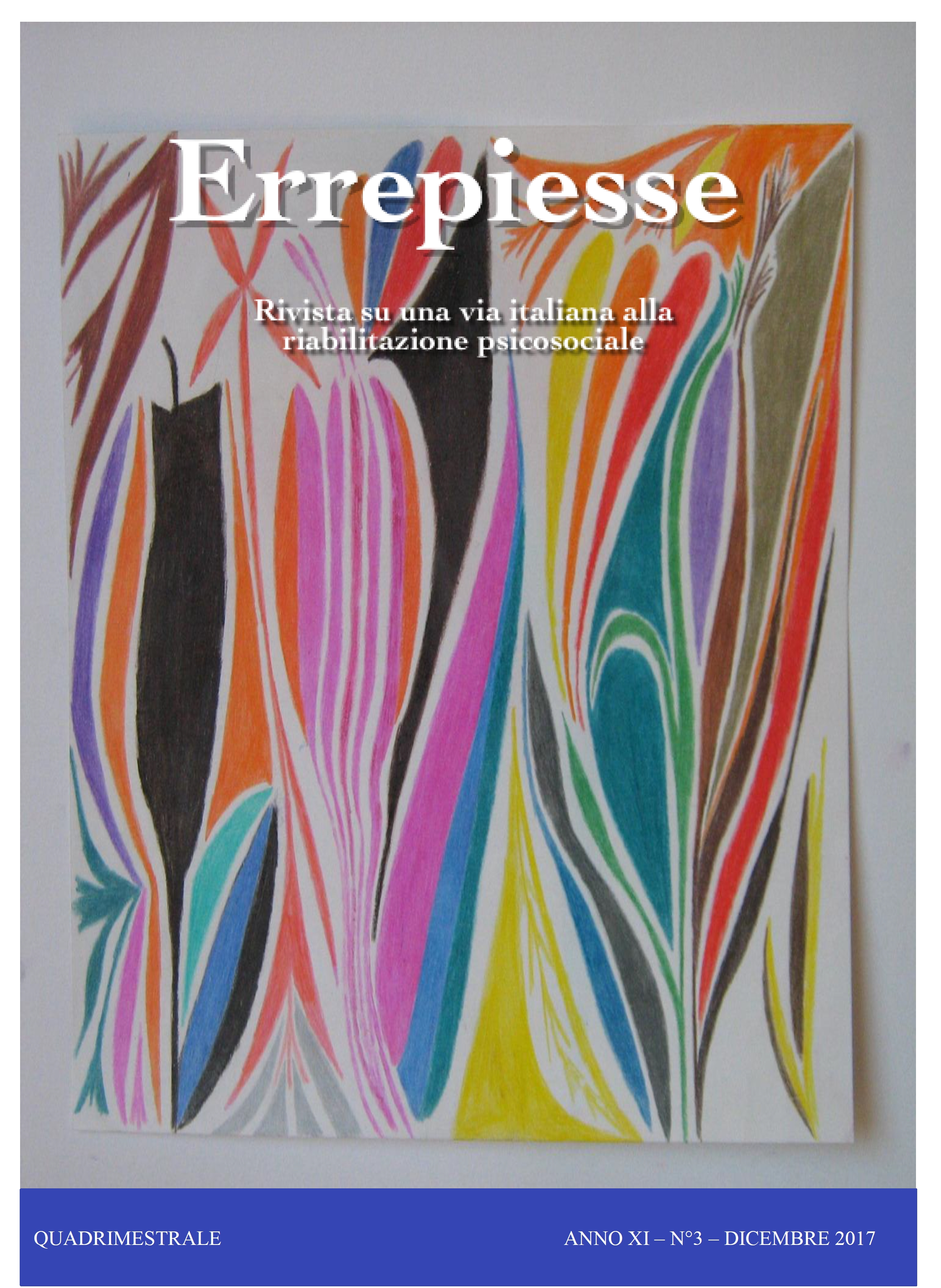 Rivista ERREPIESSE – Anno XI – n.3 – Dicembre 2017