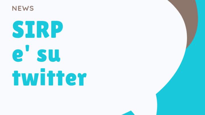 SIRP ora anche su Twitter